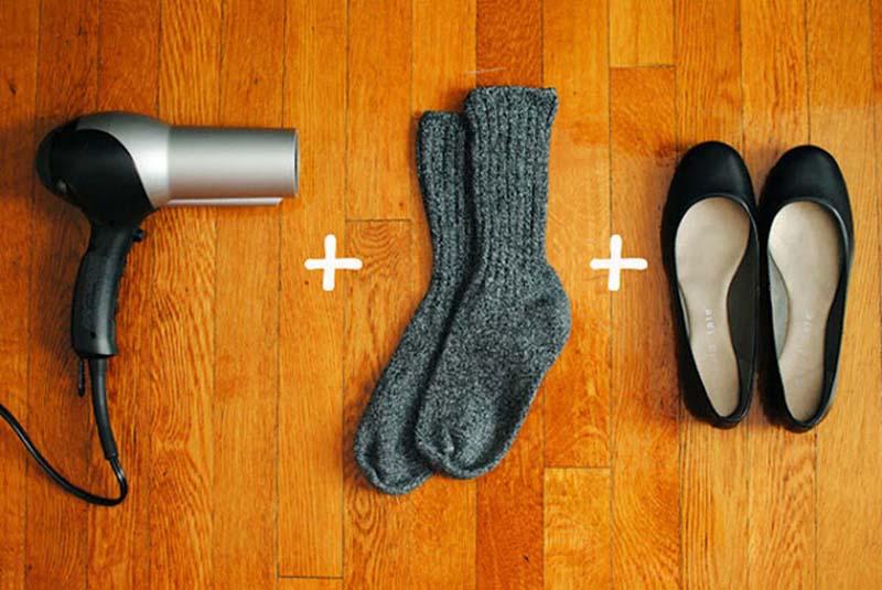 Как сделать чтобы было тепло в обуви 480